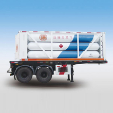 CNG Tube Skid semi-trailers