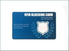 Customized RFID Blocking Colourful RFID Card