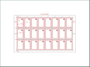 PVC Sheet Mifare Inlay for Manufacturing Card