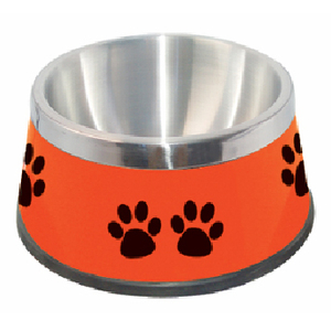 Stainless Steel Dog Meta Bowl Feeder
