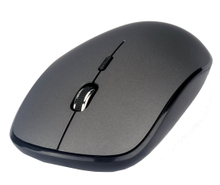 Big Slim Wireless Mouse,4D Button, 800/1200/1600 DPI, Rubber Oil Upper Case Finished
