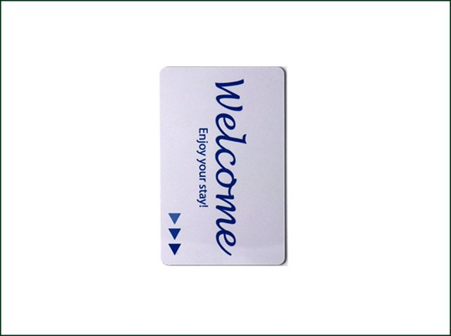 Plastic Pvc Magnetic Key Cards for Hotel Door Lock