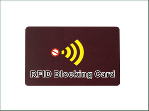 High Quality RFID Signal Blocking Card