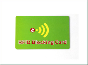 RFID Card Blocker Blocking NFC Card