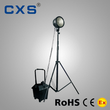 IP54 Mobile Portable Light Towers , Halogen / HID / LED Light Tower