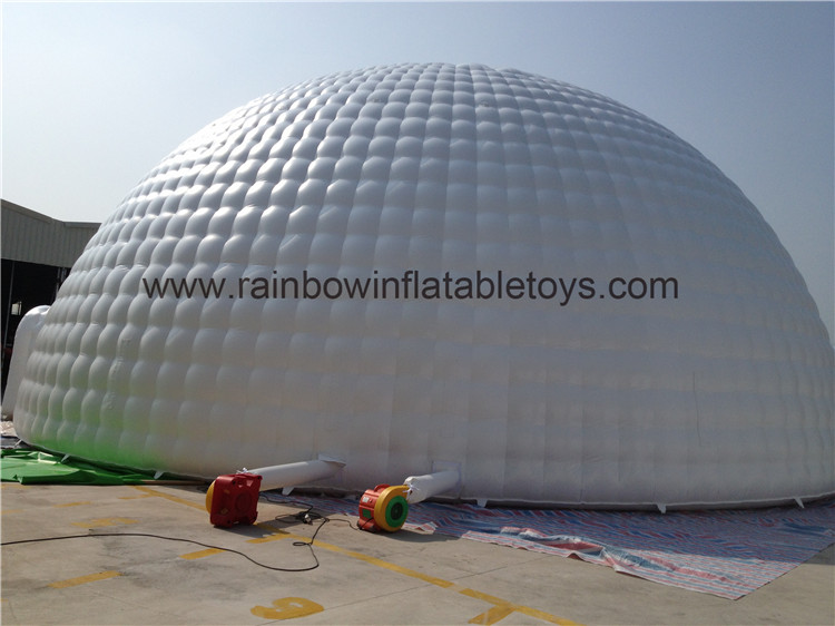 RB41020(16x16m) Inflatable Customized Size Dome Tent For Sale
