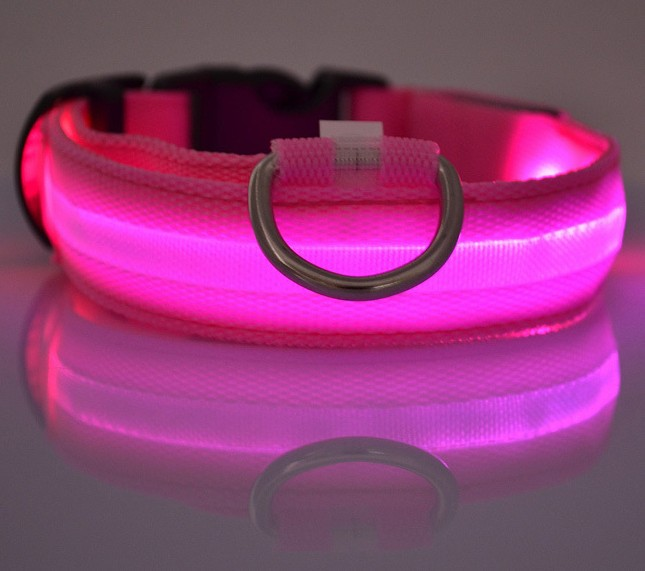 Adjustable LED Flash Pet Dog Training Collar