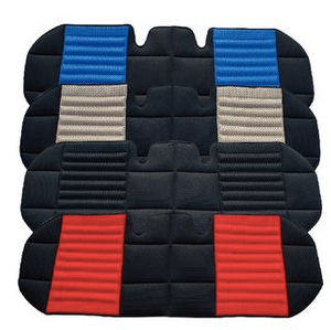 Luxurious breathable back seat cushion