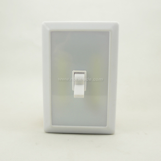COB LED Cordless Wall Lamp LED Switch Night Light