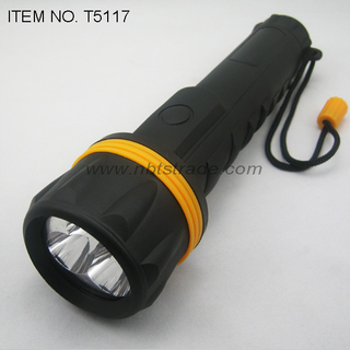 3D PVC coated LED flashlight