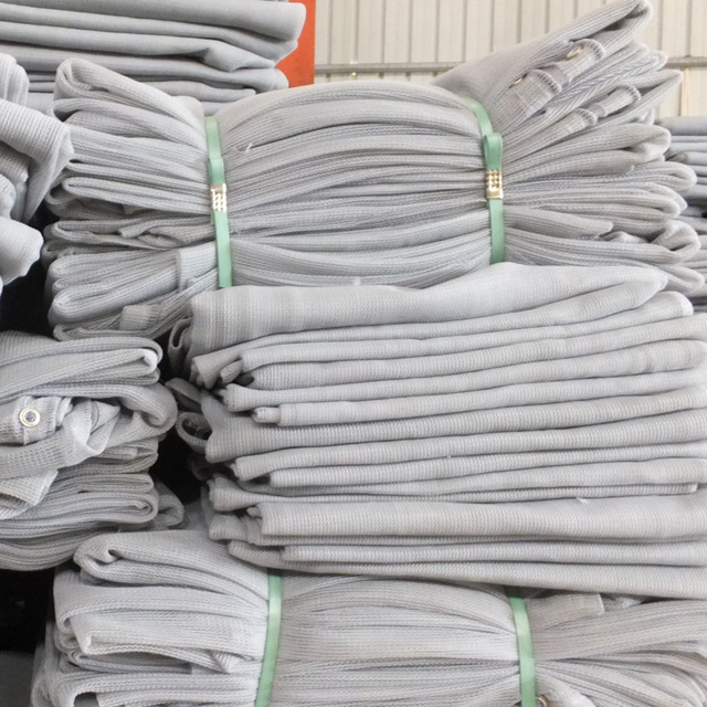 HDPE 230gsm grey color scaffold net
