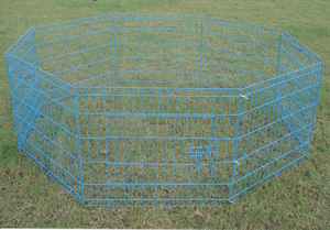 Dog Pet Run Fence Playpen with 8 Panels