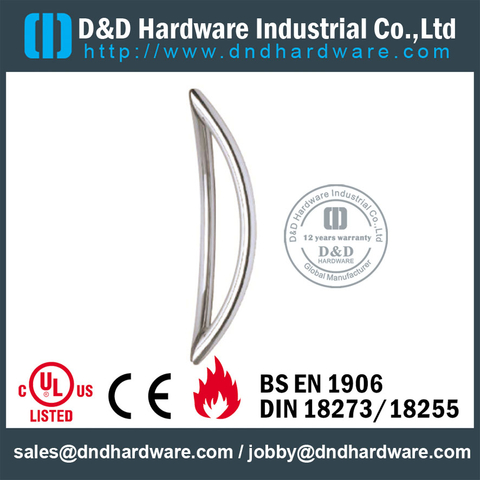 Stainless Fire-rated Couple Pull Handle -DDPH014