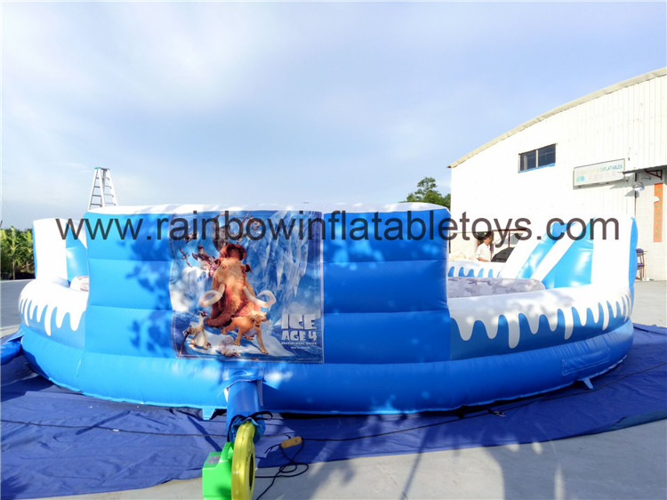 RB91019(dia 9.2m)Inflatable Hungry Hippos Games/Chow Down Game