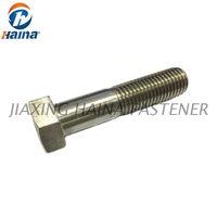 M20 M22 M24 DIN933 DIN931 High Quaity Stainless Steel A2-70 A4-80 Hex Bolt