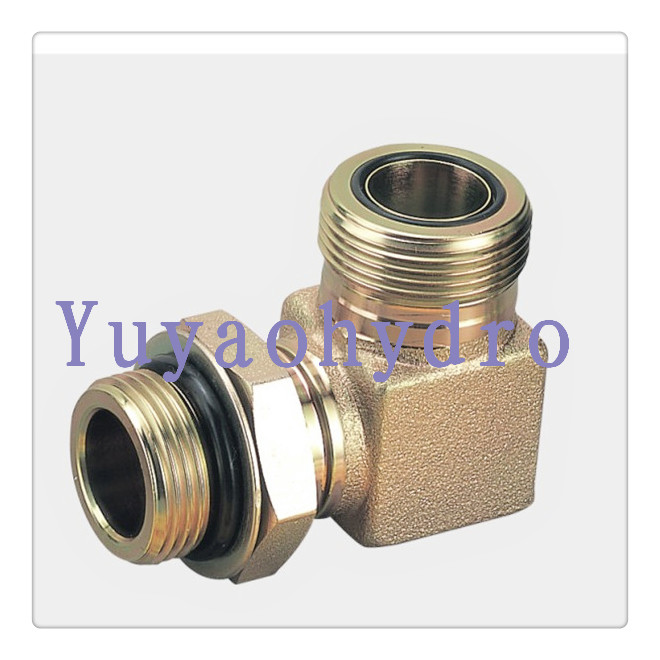 Orfs tube fittings hydraulic adapters sae j