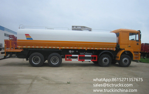 F2000 Shacman water Tanker Vehicle 28000L-30000L/5000 -6000gallon