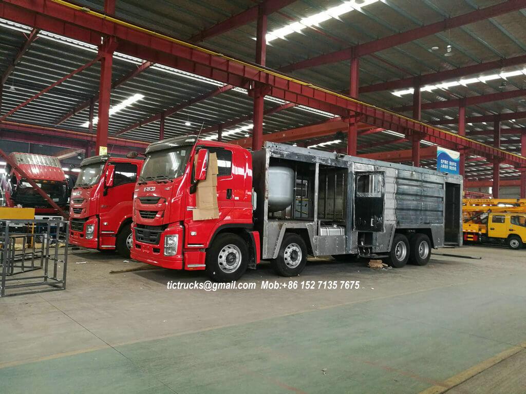 ISUZU GIGA foam powder fire -33-truck