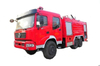 Dong Feng VP Water Fire Truck 6x6 Offroad All Wheel Drive with 5500Liters Water Foam Tank