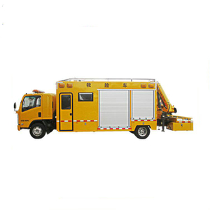 ISUZU Emergency Rescue Vehicle with Crane