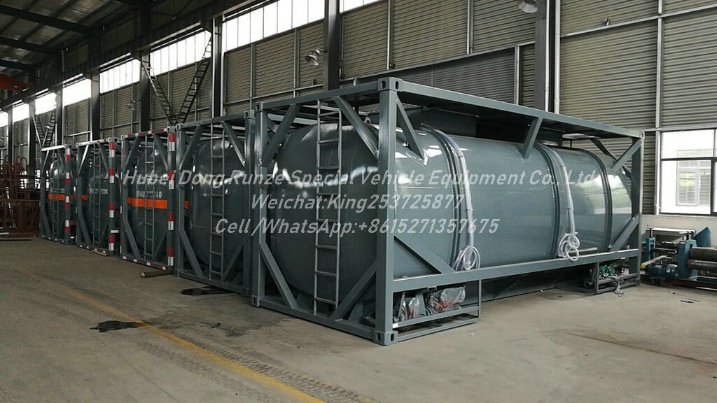20FT tank Container -21m3 Sulfuric acid Tank
