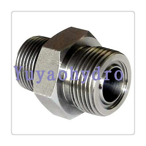 Nipple union orfs adapters hydraulic fittngs