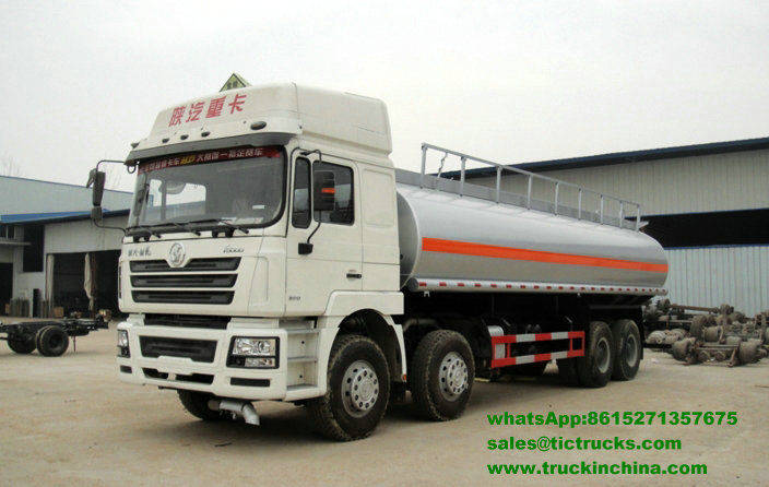 Camion 2_1.jpg de pétrolier d'acier inoxydable de Shacman F3000 8x4