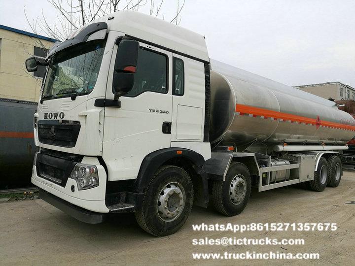 Essence en aluminium Tank_1.jpg du camion-citerne de HOWO -26T-SINOTRUK HOWO 8x4
