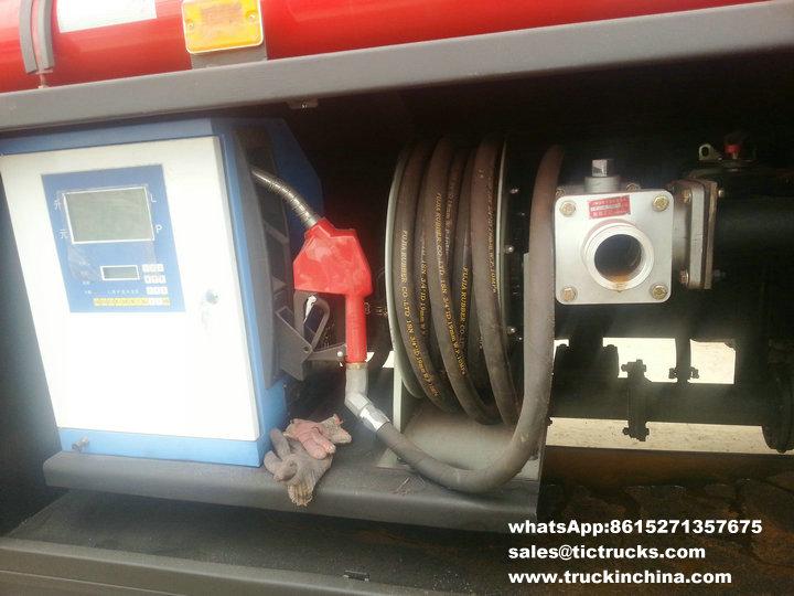 Camion-citerne de la distribution de FAWil, camion de pétrole de flux, véhicule de réapprovisionnement en combustible, ravitaillement truck_1.jpg d'ordinateur