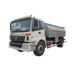 FOTON Fuel Delivery Truck With Stainless Steel Tank PTO Fuel Pump 12CBM