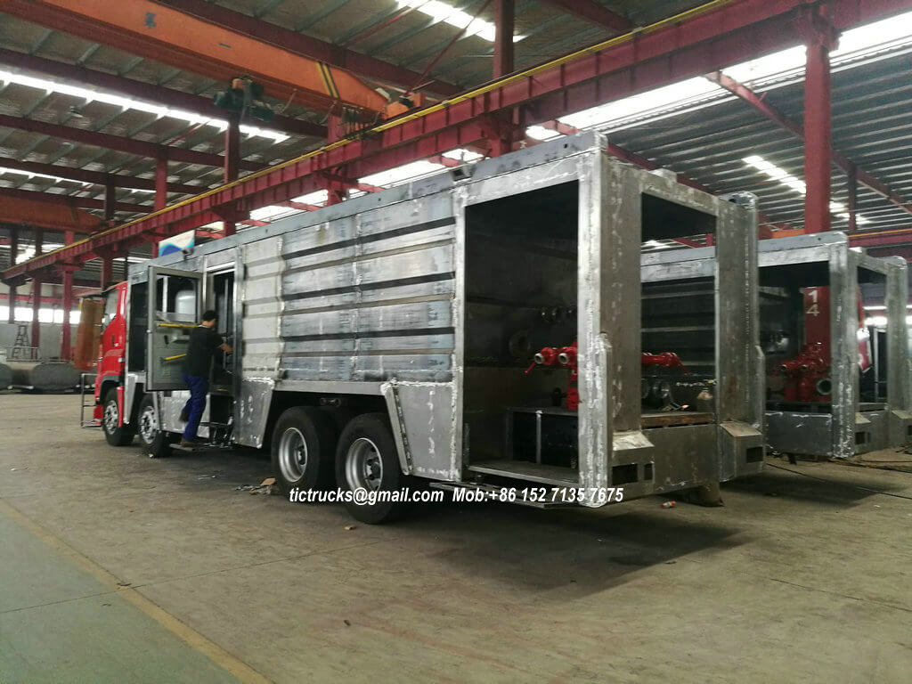 ISUZU GIGA foam powder fire -37-truck