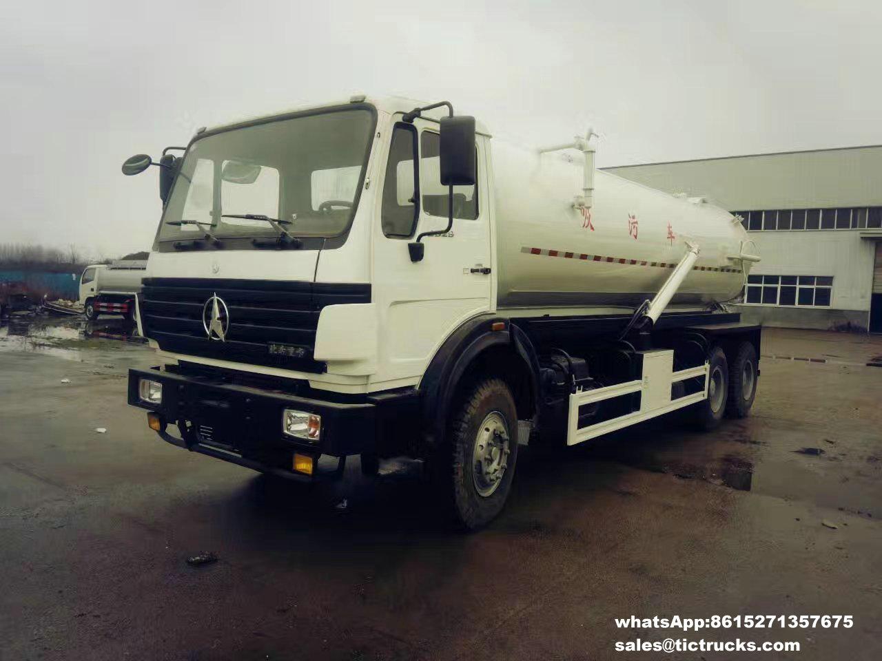 Camion -02_1.jpg d'eaux d'égout de vide de Beiben