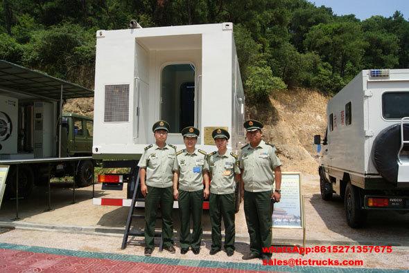 6X4 outre de véhicule médical de route - clinique mobile Truck_12_1.jpg