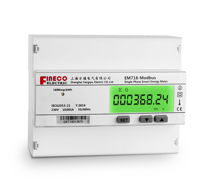 EM718 single phase~80A~Modbus~4Tariff