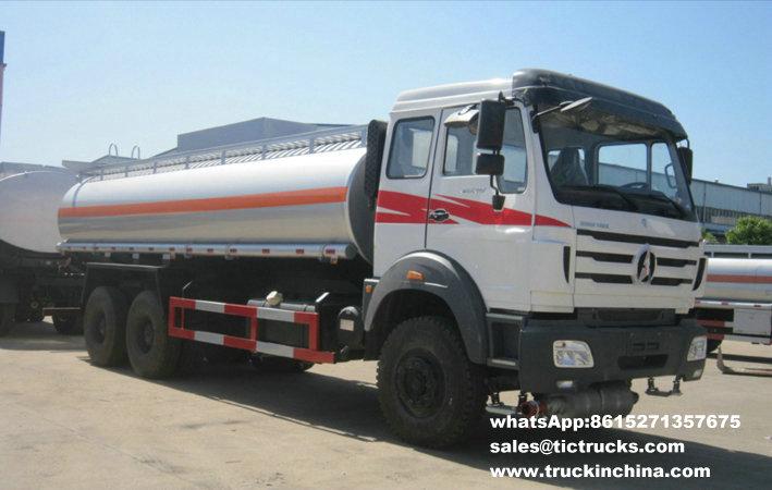 Camion 6x4 22000L du pétrole 2538 lourd de Beiben 2534