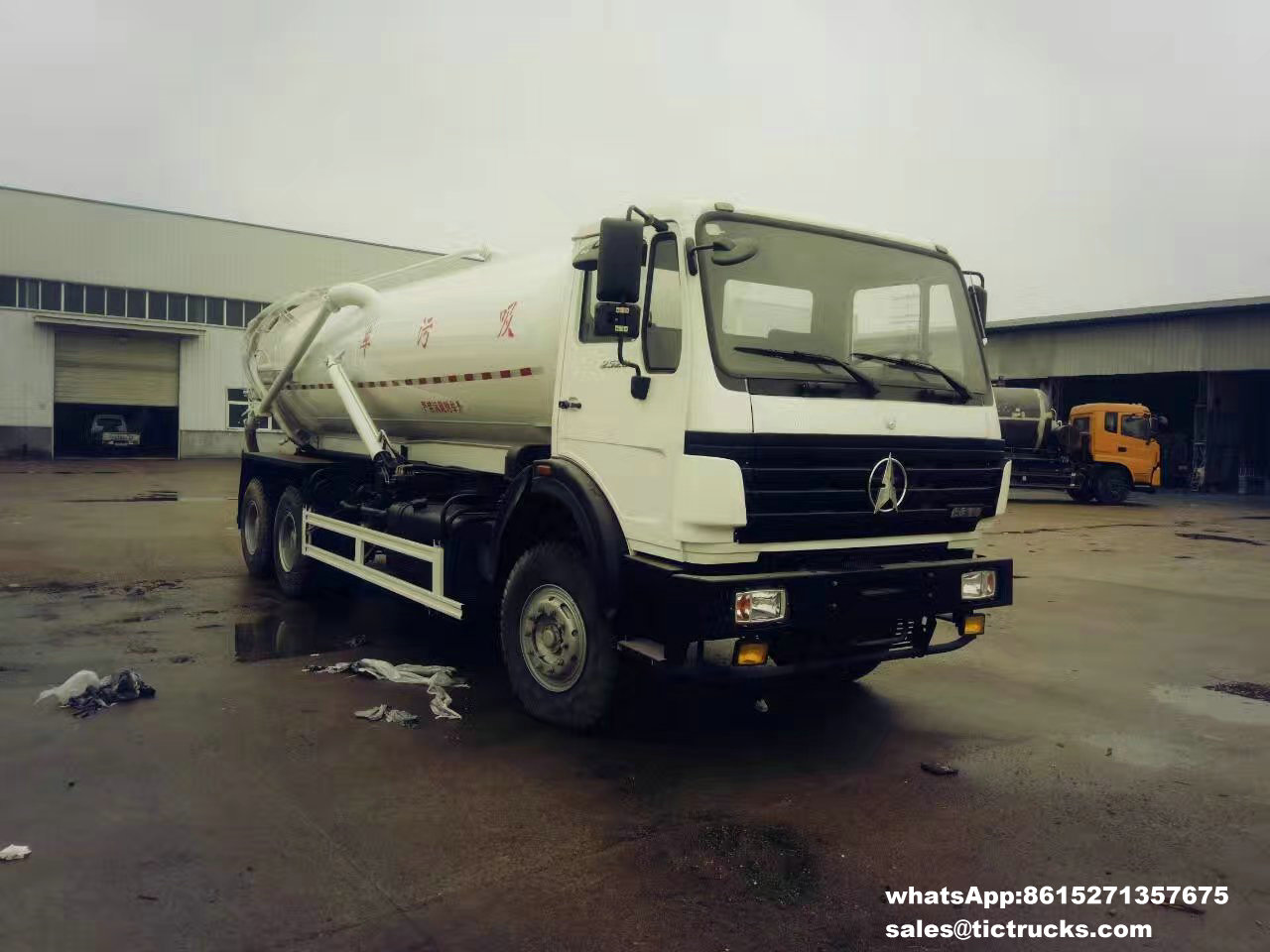 Camion -03_1.jpg d'eaux d'égout de vide de Beiben