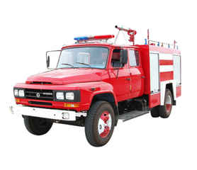 Dong Run Water Foam Fire Truck 4x4 All Wheel Drive 3500 Liters