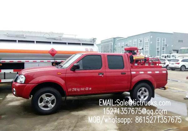 camion de pompiers -00-_1.jpg de camionnette de livraison de nissans