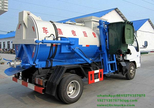 camion -2100L-ISUZU.jpg de collecte des déchets de nourriture