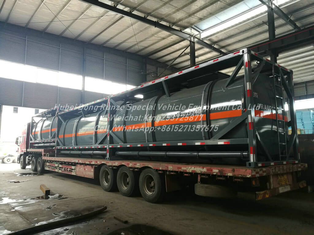 ISOTANK 20ft HCL acid-13000L- Tank Container Lined PE