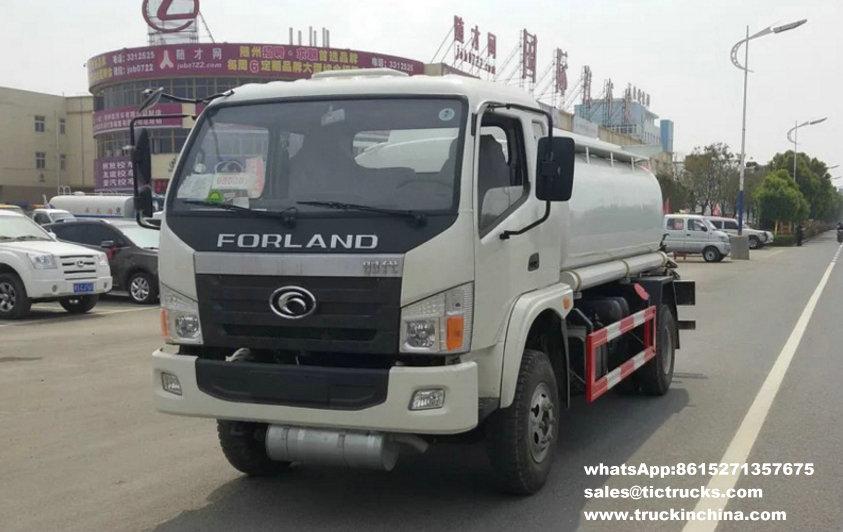 Forland 4x2,oil tanker truck