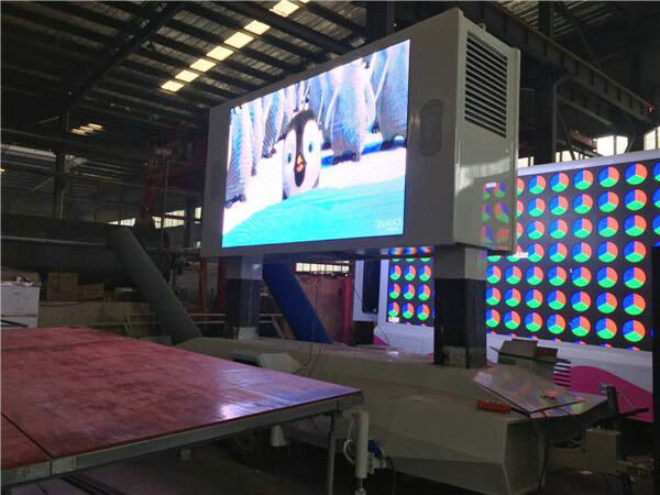 P6 LED Mobile Trailer Mounted Two sides LED Screen For