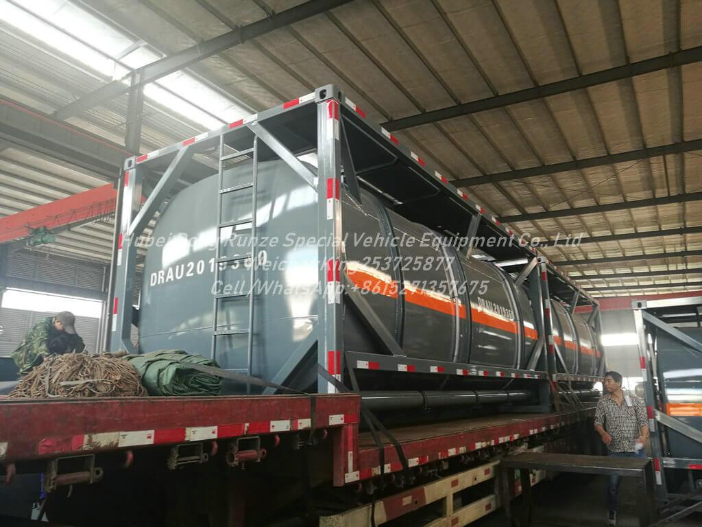 20FT tank Container -16cbm Hydrofluoric acid Tank