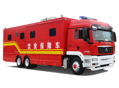 SITRAK C7H 540 HP Mobile Kitchen Heavy Truck Customizing