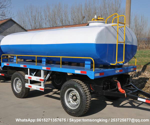 Dolly Tank Trailer-5100Liters water