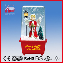 (P16029T) Snowing Christmas Gift Angel LED Lights Decoration