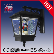 (LW40045-3S2-H) Outdoor&Indoor Lighted Snowing Wall Lamp