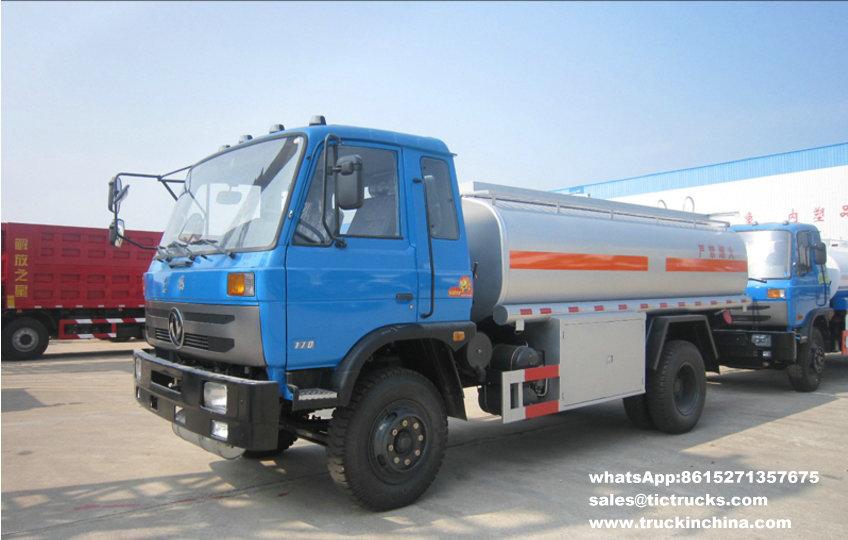 Capacité 10000L_1.jpg de camion-citerne aspirateur d'essence de Refuelling de Dongfeng 4x2