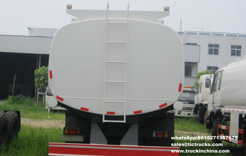 Camion de pétrole lourd de Dongfeng 6x4 22000L