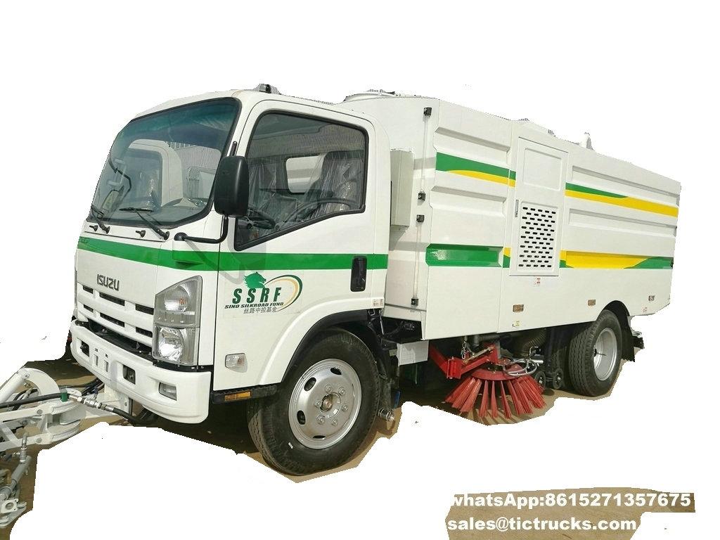 Camion -03.jpg de balayeuse de vide d'ISUZU